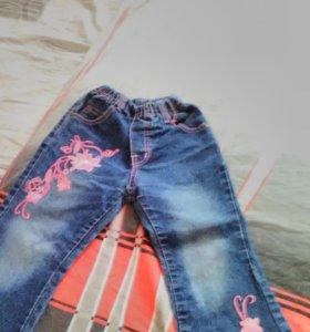 Брючки джинсовые.