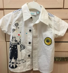 Рубашка на мальчика р-р 74