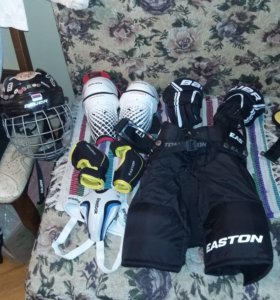 Хоккейная экипировка.Полный комплект.