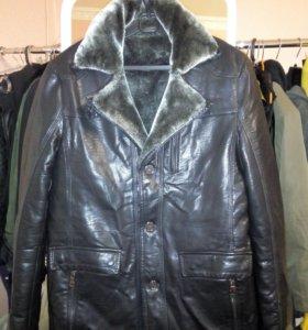 Тёплая зимняя мужская куртка