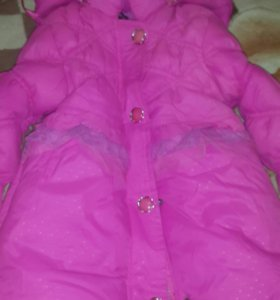 Детская куртка,зимняя размер L