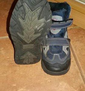 детские демисезонные ботинки Deltex 30