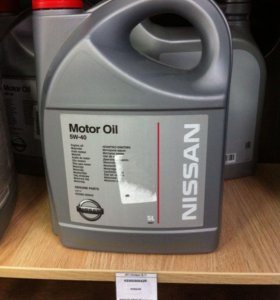 Масло моторное Nissan