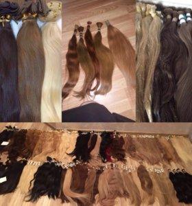 Наращивание и продажа волос