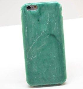 Чехол - накладка Силикон мрамор Iphone 5 /5s/6/6s