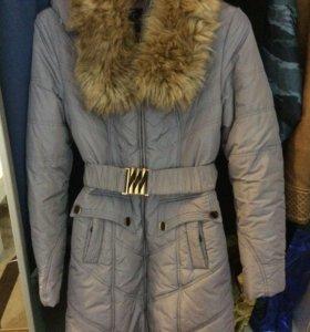 Пальто зимнее размер 42-44