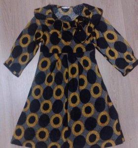 Платье теплое (можно и беременным)