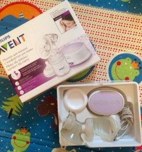 Электронный молокоотсос Philips AVENT + подарок