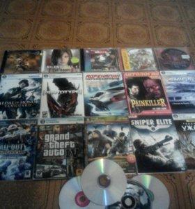 23 диска с играми
