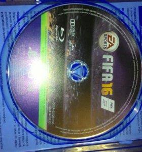 Диск FIFA 16 для PlayStation 4