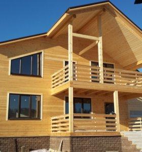 Строим каркасные теплые дома