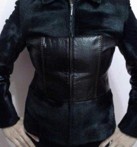 Коженная куртка из натуральной нерпы