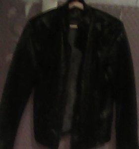 Куртка мужская кожаная,размер 46-48,новая.