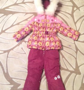 Зимний костюм Kiko для девочки(1-4 года)