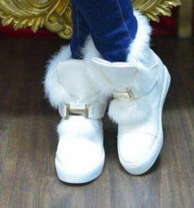 Новые зимние ботиночки Hermes