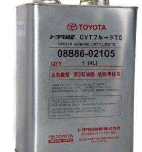 Toyota CVT Fluid TC (08886-02105), 4 литра