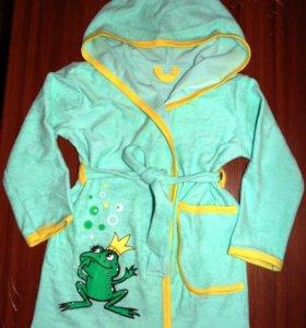 Новый халат для девочки