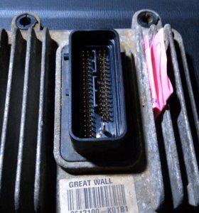 Блок управления двигателем эбу на ховер н2
