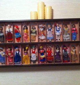 Коллекция фарфоровых кукол!!!