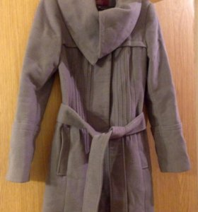 Шерстяное пальто xs