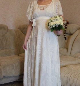 Свадебное платье 44-46 размера