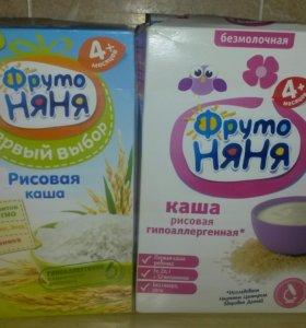 Каша Фруто Няня рисовая безмолочная