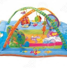 Детский развивающий коврик Tiny love зоосад