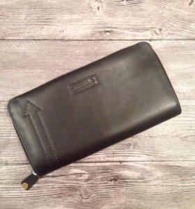 Клатч портмоне из натуральной кожи.
