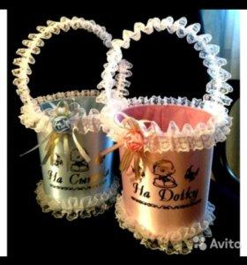 Свадебные корзинки