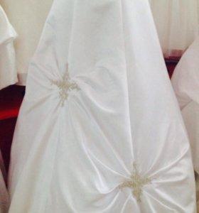 Платье с шлейфом р 42-44