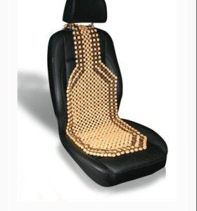 Две роликовые массажные накидки на сиденье