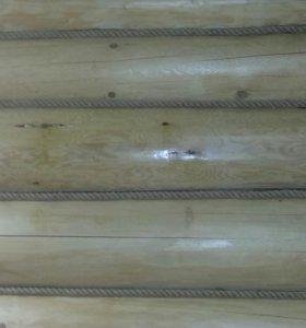 Уничтожение короеда в срубах