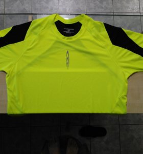 Футболка Brooks Adrenaline Nightlife HiViz T Shirt
