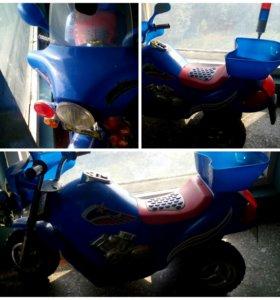 Аккумуляторный мотоцикл