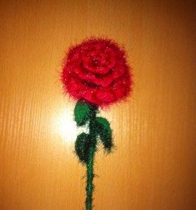 Самодельная роза