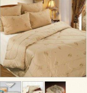 Одеяло новое из верблюжьей шерсти в ТИКЕ