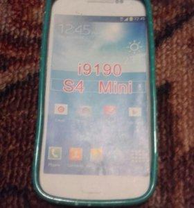 Чехол на телефон samsung s4 Mini .