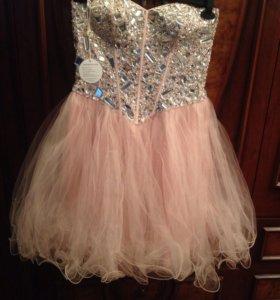 Новое карсетное платье