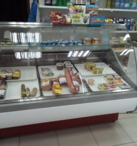 Витрины холодильные б/у
