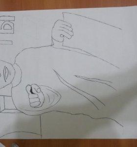 Рисунки.