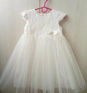 Платье на девочку. Рост(110см)4-5 лет.