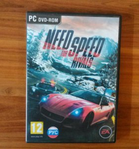 Диск NEED FOR SPEED RIVALS