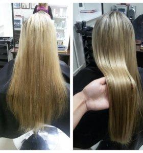 Реконструкция волос!Окрашивание любой сложности!