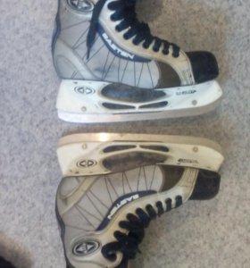 Коньки,хоккейная форма