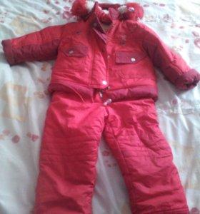Детский костюм,зимний.