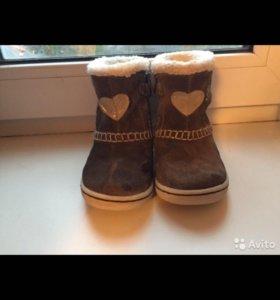 Ботинки зимние фирма Geox