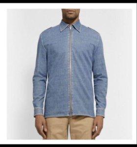 Мужская джинсовая рубашка Maison Martin Margiela