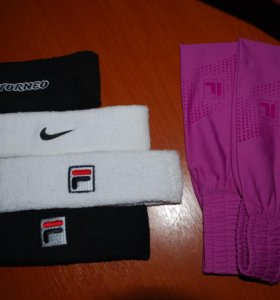 Новые Повязки на голову Nike, Fila, Torneo