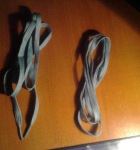 Светящиеся синие шнурки