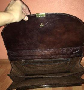 Кожаный портфель, оригинал Petek